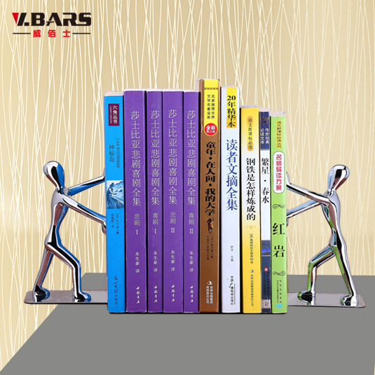 Decorations Ornaments Fashion Creative Home Bookshelf Comic Book Holder Stand Bookend Gift By Study