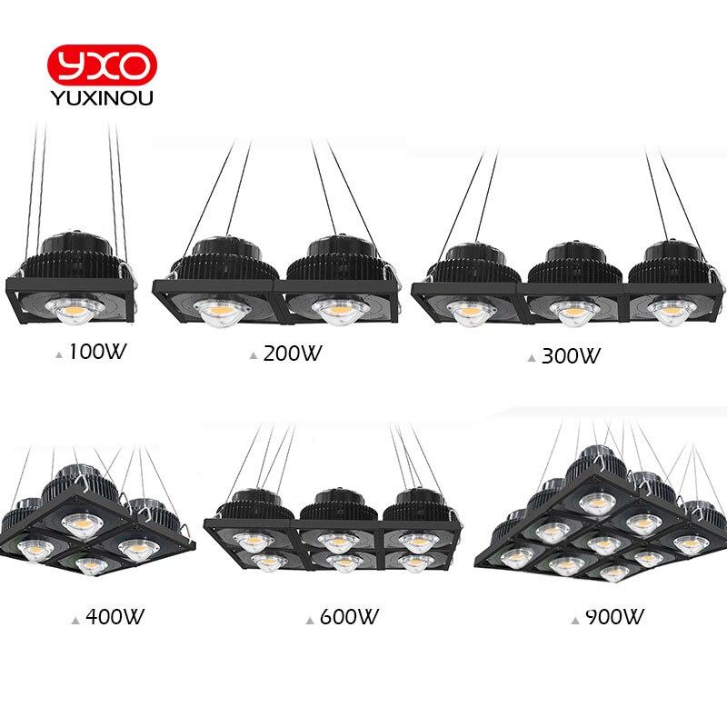 CREE CXB3590 100W 200W 300W 600W 900W COB LED Grow Light Full Spectrum LED Growing Lamp