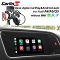 2019 автомобиля Apple CarPlay Android авто радио-дешифрователь для Audi A4 A5 Q5 без MMI оригинальный Экран изображение при движении задним ходом комплект доо...