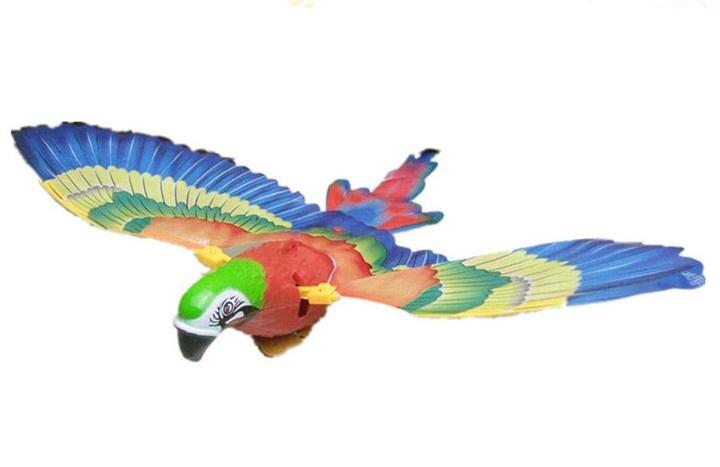 Nouveauté Flash Simulation Électrique Flying Eagle Bird Rotation - Jouets électroniques - Photo 4