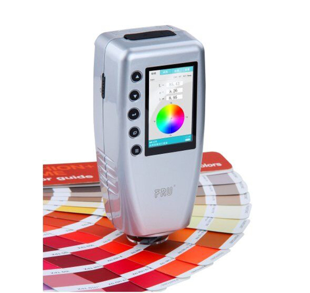 Precise Digital Colorimeter WR10 8mm Color Difference Meter Tester Color Meter Color Reader Color Tester цены