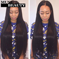 10A Peruvian Straight Virgin Hair With Frontal Closure 13x4 lace Frontal With Bundles Mocha Puruvian Hair Bundles With Closure