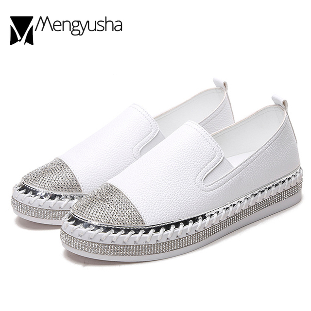 famous brand women flat espadrilles bling crystal loafers ladies knitted  platform fisherman shoes summer flat sewing shoes 2018 6f61d9d05920