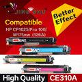 1 conjunto completo cartucho color toner compatível para hp 310a CP1025 CP1025nw MFP M275nw M175 M275 CE310A CE311A CE312A CE313A impressora
