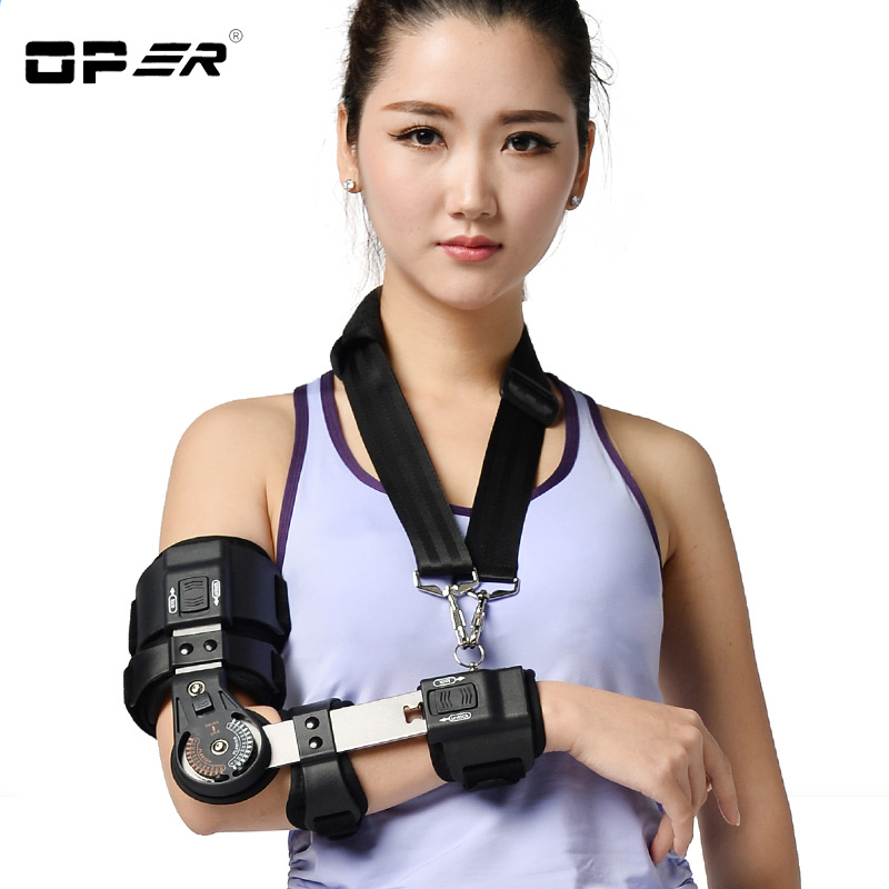 OPER EO-Adjustable elbow arm stretched straight cerebral stroke Hemiplegia Correction brace Adult Children Orthotics tools EO-30 factory direct sale hinge elbow brace arm support medical orthopedic orthotics supports