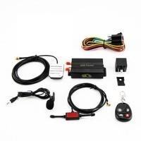 GPS103B GSM/GPRS/GPS Auto rastreador TK103B Car GPS Tracker Tracking Device with Remote Control Anti theft Car Alarm System New