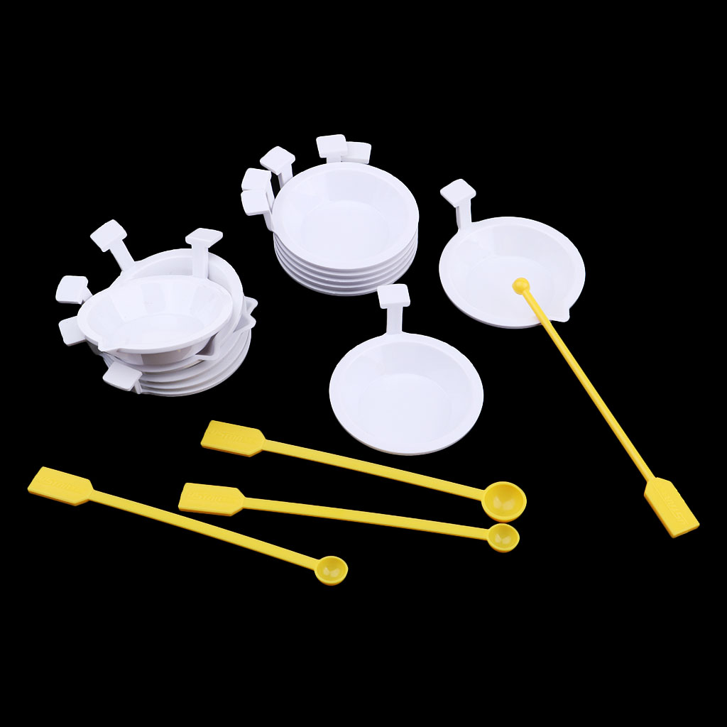 U-STAR Painting Tool Big Size Metal Palette Dish w// Mouth Container for Model