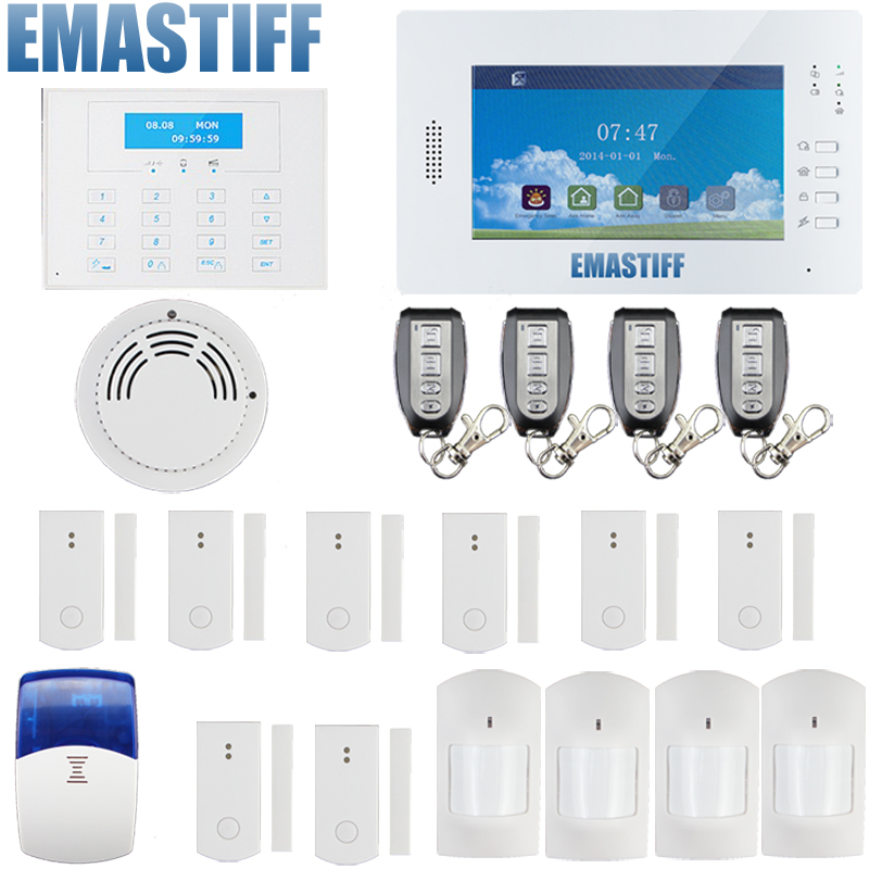 freeshipping by DHL 868mHz Wireless PSTN GSM Alarm System,Smart alarm systems security home gsm alarm system 868mhz freeshipping rs232 to zigbee wireless module 1 6km cc2530 chip