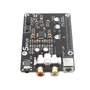 Image 5 - AK4493 DAC Decoder Board Digital Broadcast Network Player For Raspberry Pi 2B 3B 3B+ Decoding To I2S 32BIT 384KHZ DSD128