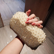 2019 hot seller nice Woman Evening bag Women Diamond Rhinestone Clutch Crystal Day Clutch Wallet Wedding Purse Party Banquet(China)