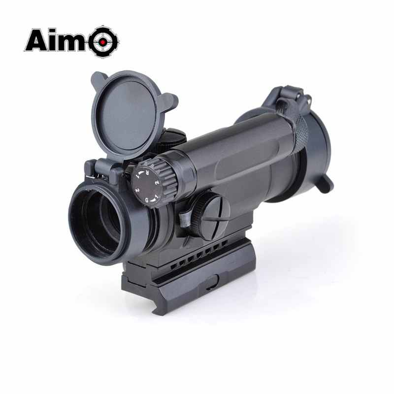 המטרה-O אדום Dot Sight אופטיקה היקף טקטי M4 Riflescope לציד ירי AO3032