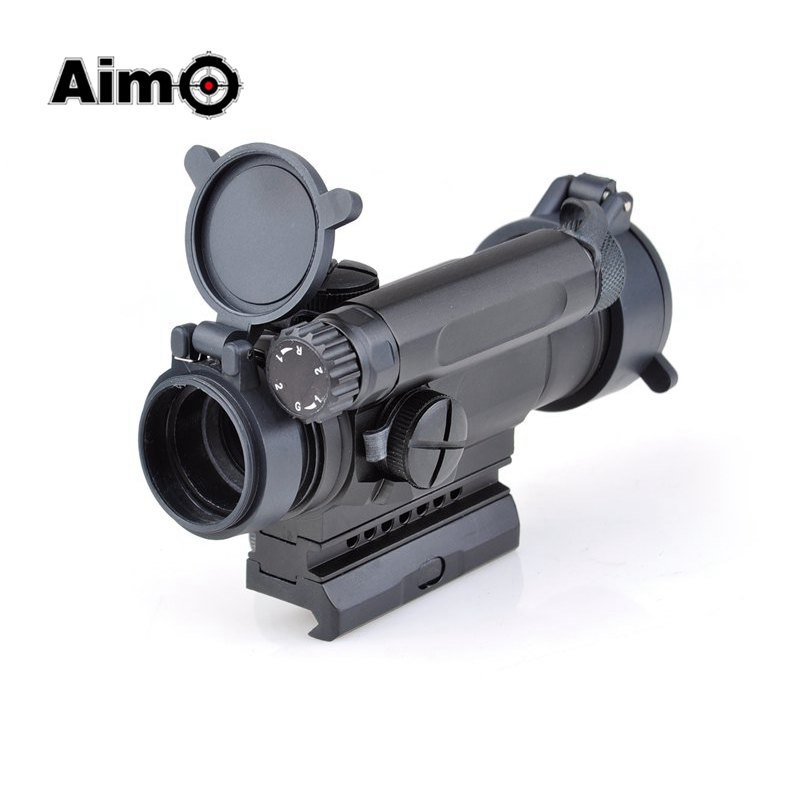 Aim-O Red Dot Sight Optics Scope Tactical M4 Riflescope For hunting shooting AO3032