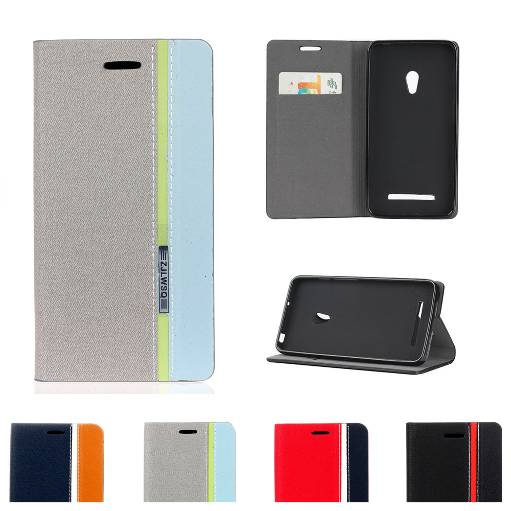 Leather Case for <font><b>ASUS</b></font> <font><b>T00G</b></font> ZenFone 6 A601CG A600CG A A600 A601 600 601 600CG 601CG CG Flip Phone Cover for <font><b>ASUS</b></font>_<font><b>T00G</b></font> ZenFone6 image