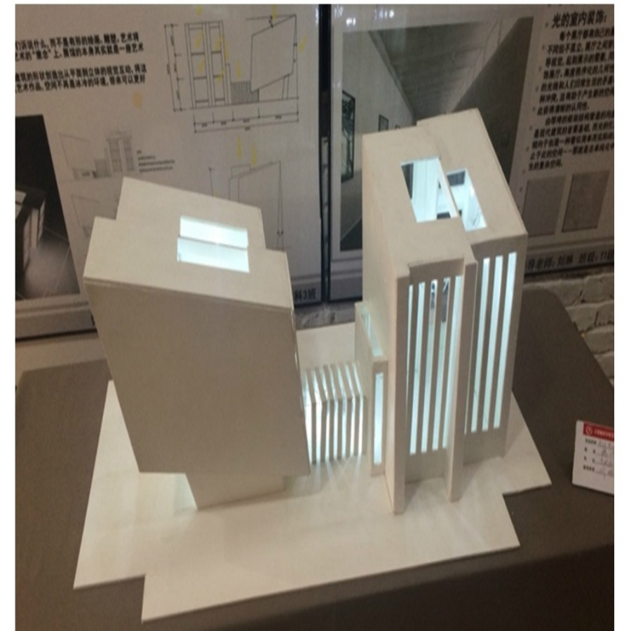 led model light in architecture model building  (4)