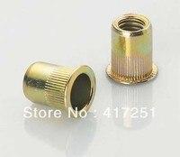 Lot50 Cabeza Plana Métrica de Acero M10 Ciegos Insertar Rivet Nut Rivnut