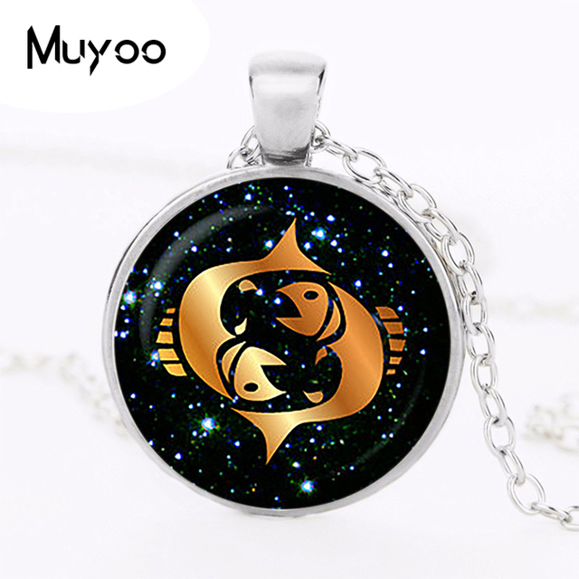 Pisces black glass zodiac pendant pisces necklace charm pisces pisces black glass zodiac pendant pisces necklace charm pisces jewelry birthday gift astrology sliver plated christmas mozeypictures Images