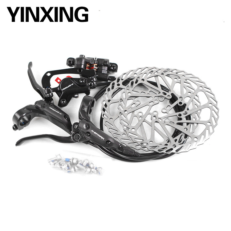 NEW Mountain bike brake Hydraulic Disc Brake MTB Mountain Bike Calipers Left & Right Lever shimano slx bl m7000 m675 hydraulic disc brake lever left right brake caliper mtb bicycle parts