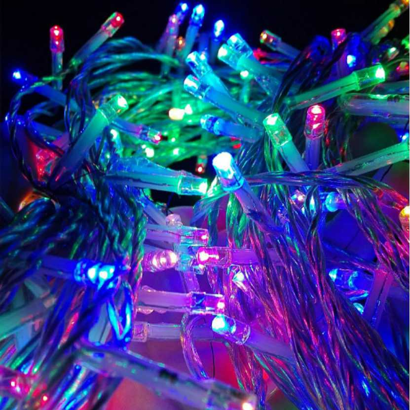 10M 100 Led String Garland Christmas Tree Fairy Light Luce Waterproof Home Garden Party Outdoor Holiday Decoration String lights набор jtc 4027