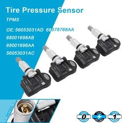 4 sztuk czujnik ciśnienia w oponach TPMS Fit Dla Chrysler Dodge OEM 56053031AD 433 mhz|Systemy monitorowania ciśnienia w oponach|   -