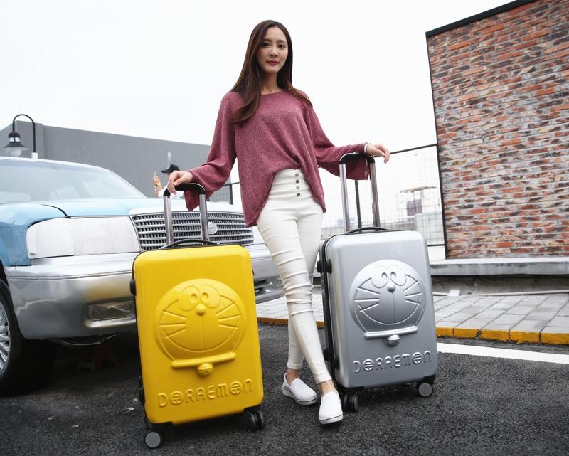 Silver Chat Mode Montés Caster Roseo Bagages Enfants Inch Jeunes Doraemon Gold Les Pink Blue Sont Valise Chariot 20 Étudiant Pouces 20 Marque De Boîte Pour À 20 20 Bord 20 ZPpqzcEw