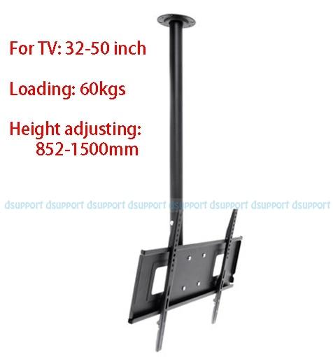 32-50 LED LCD TV Ceiling Mount 360 Degree Rotation LCD TV Bracket Hanger loading 60kgs Height adjusting 852-1500mm PSR109 levett caesar prostate massager for 360 degree rotation g spot