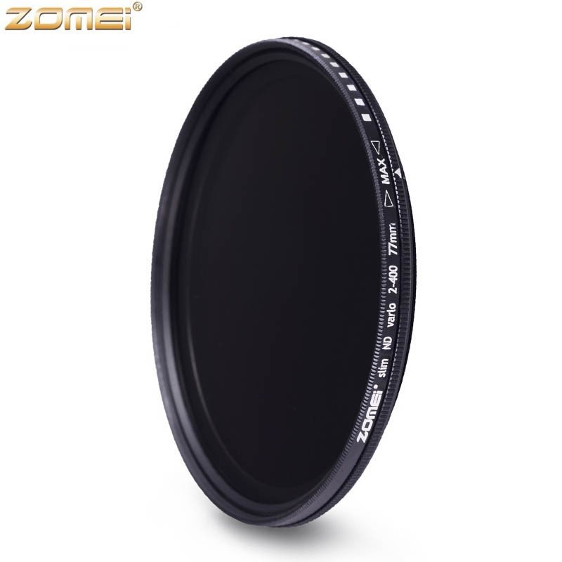 Zomei 52mm Fader Variable ND Filter Adjustable ND2 to ND400 ND2-400 Neutral Density for Canon Nikon Hoya Sony Camera Lens 52mm