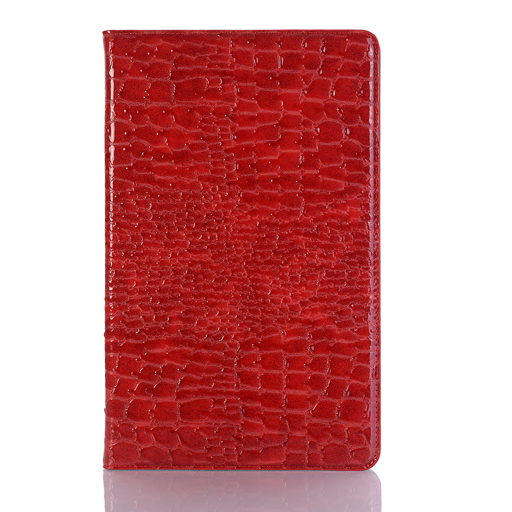 For Samsung T595 T590 Case Tab A 2018 10.5 Soft PU Leather Crocodile Stand Fashion Women Cover Card Document Holder