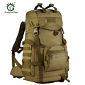 2016 Men's Military Backpack Waterproof Nylon Backpacks Bag Multi-function Camouflage Pack 50-60L Rucksack Tactics Bag