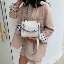 Fashion Chain Women Bucket Bag Women Leather Zipper Shoulder Bags Casual Scarves Crossbody Bag Ladies Totes Messenger Bags Purse цена и фото