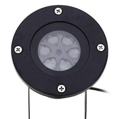 110-240 В 4 Вт LED Водонепроницаемый Star Light Пейзаж лампы проектора США ЕС pulg