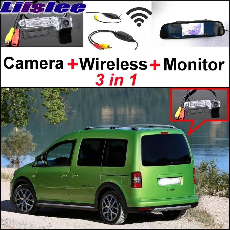 Liislee Special Rear View Camera + Wireless Receiver + Mirror Monitor Easy Backup Parking System For Volkswagen VW Caddy 2K MK2 dentoalveolar distraction osteogenesis
