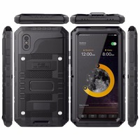 OCUBE For Iphone X Phone Case Original Full Sealed Waterproof Shockproof Dirtproof Diving Underwater Matte Case