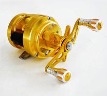 Bait casting reel 11+1 BB Full Metal Magnetic Brake High Quality Aluminum+Stainless Steel bearings & Shaft high ratio
