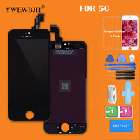 YWEWBJH 20Pcs Lot LCD Touch Screen For 5C No Dead Pixel Spots Display Touch Digitizer Assembly