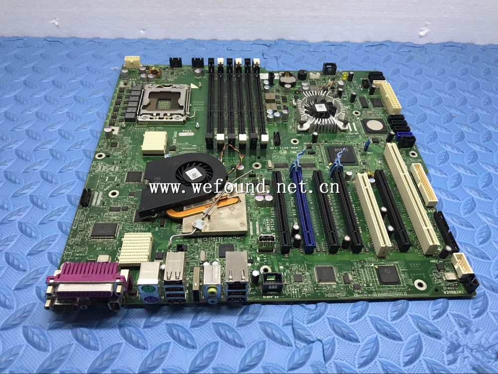 100% Working Desktop Motherboard For T7500 D881F 6FW8P M1GJ6 1366 X58 System Board Fully Tested original d945gclf atom 230 1 6g 17x17 pos machine desktop board well tested working