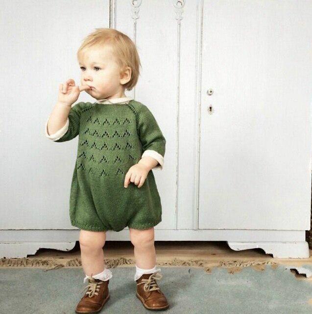 Боди Для Новорожденных Девочек Детский Комбинезон Детская Одежда Девушка Весна Свитер Малышей Вязаные Пуловеры Одежда roupas infantis menina