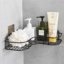 Creative Installation of Seamless Adhesive for Bathroom Corner Rack  Shelf Accessories Shelves
