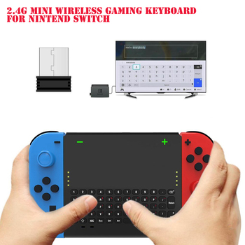 Game Accessories High-quality TNS-1777 2.4G Bluetooh Wireless Game Keyboard for Nintend Switch Console Host Joy-con