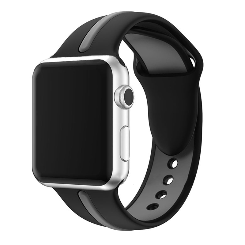 Nvpone Bracelet Strap for Apple Watch Silicone Sport Band