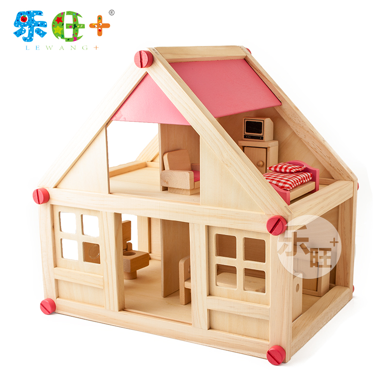 Simulation Room Furniture Children House Toy Set Intelligence Assembly Dollhouse In Puzzles From