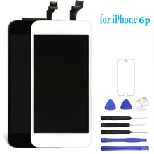 AAA High Quality LCD Touch Screen Glass Digitizer Display Assembly For iPhone 6Plus With Free Gifts Black White 2Colors кресло руководителя престиж кремовое