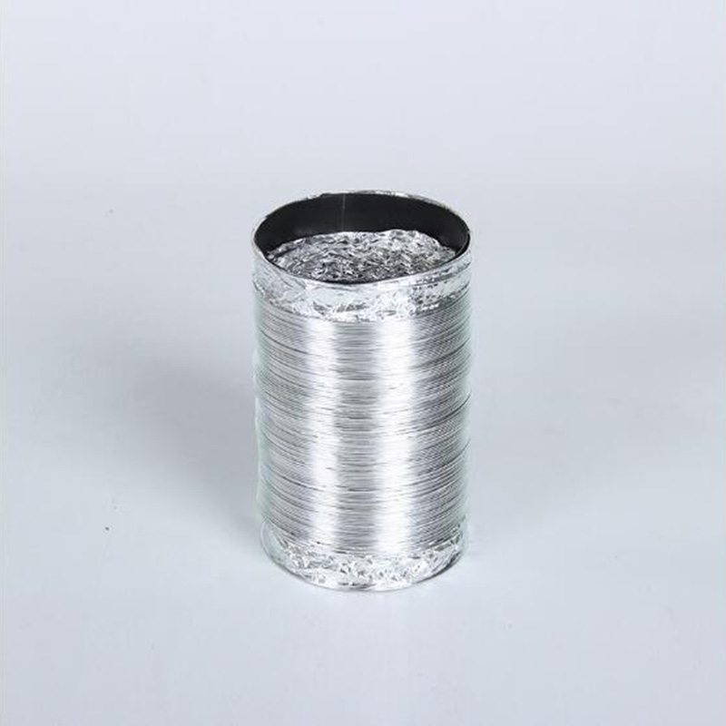 Thickened Hood Smoke Tubes Aluminum Foil Tube Exhaust Pipe Tube Ventilation Pipe Expansion Pipe Wall Hanging Furnace Smoke Pipes