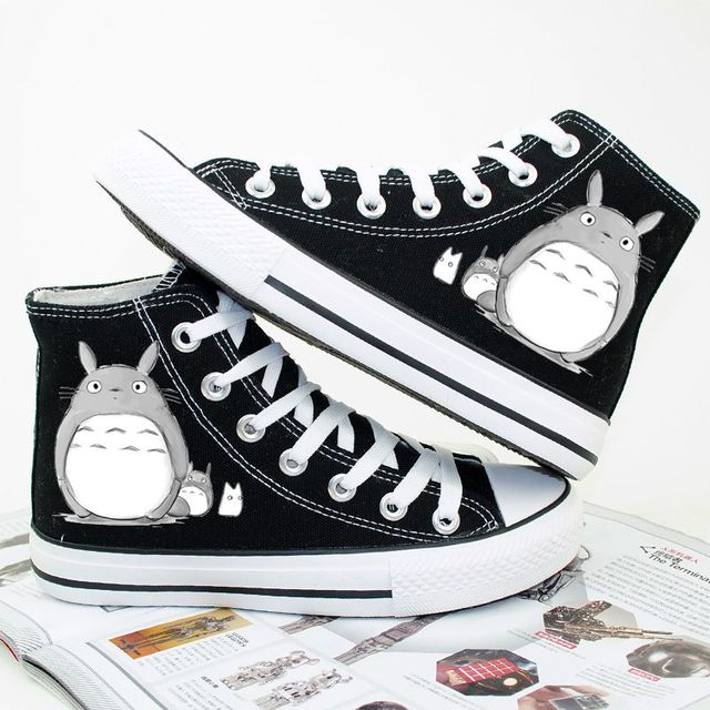 CUTE TOTORO HIGH TOP SHOES (3 VARIAN)
