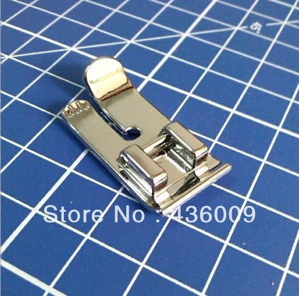 Buitinės siuvimo mašinos dalys presavimo kojelė 7304W / tiesi dygsnio kojelė
