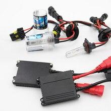 35 Вт H1 фар автомобиля H7 H4 H11 тонкий балласт комплект ксеноновые 9005 9012 Автомобильный источник света 3000 K-12000 K заменить галогенные лампы