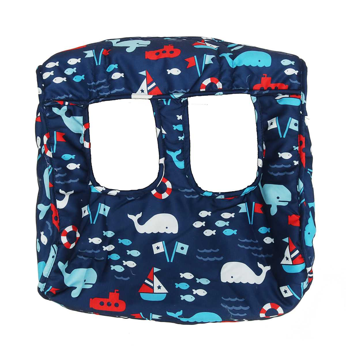 Baby Shopping Push Cart Protection Cushion Baby Chair Seat Mat Foldable Baby Kids Trolley Pad Ocean World Shopping Cart Cover