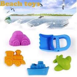 2019 лето новый пляжный песок игрушки Дети Приморский ковш лопата грабли комплект играть детей дноуглубительные инструменты подарок на день