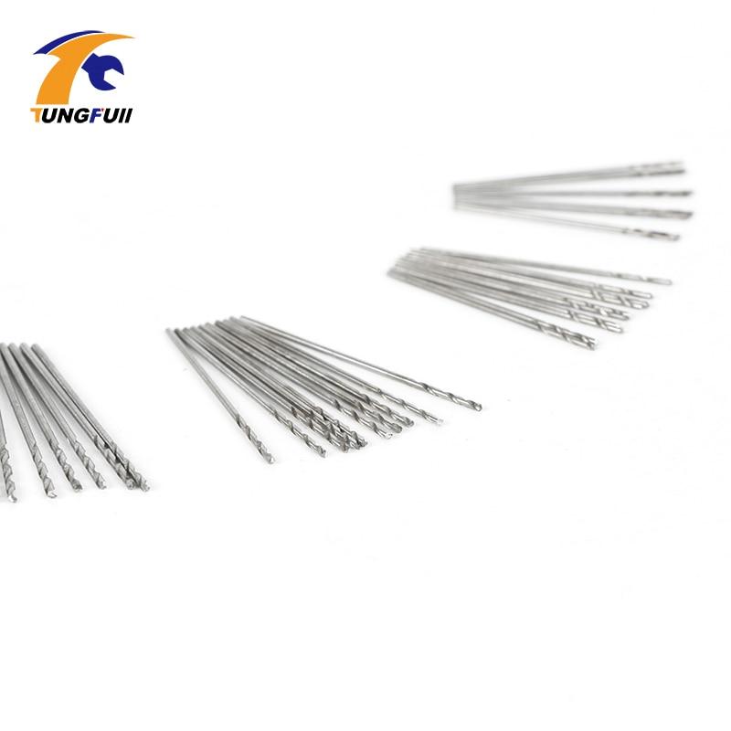 Set di micro trapani TUNGFULL 50 pezzi 0,5 mm-0,9 mm Adatto per punte - Punta da trapano - Fotografia 5