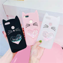3D Cartoon Lucky cat Case for Huawei P9 lite P10 LITE P20 Pro Honor 9 Mate 10 Y5 2017 Silicone Cover Y6 20