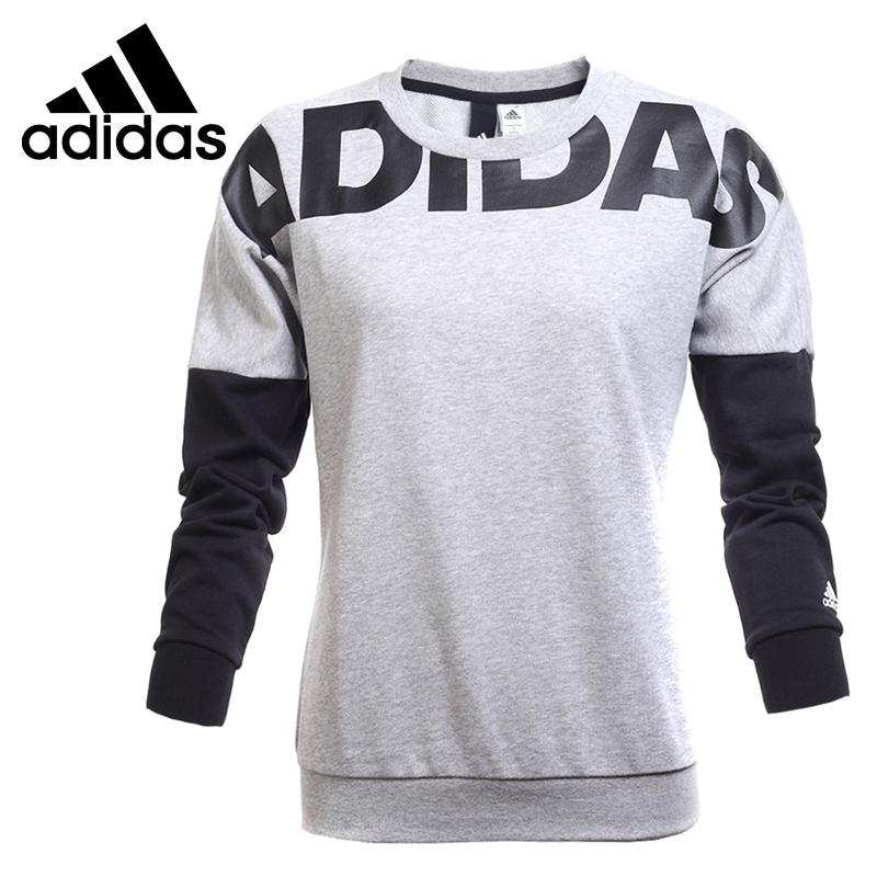 Original New Arrival  Adidas EN LETTER CREW Women's  Pullover Jerseys Sportswear original new arrival official adidas neo men s breathable o neck pullover jerseys sportswear